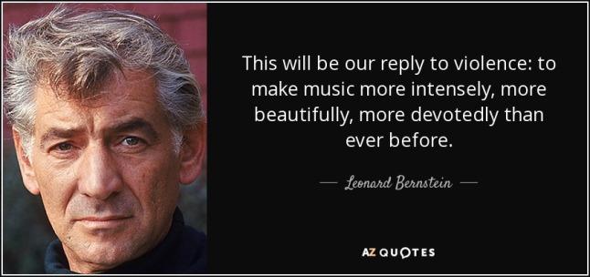 Bernstein on violence